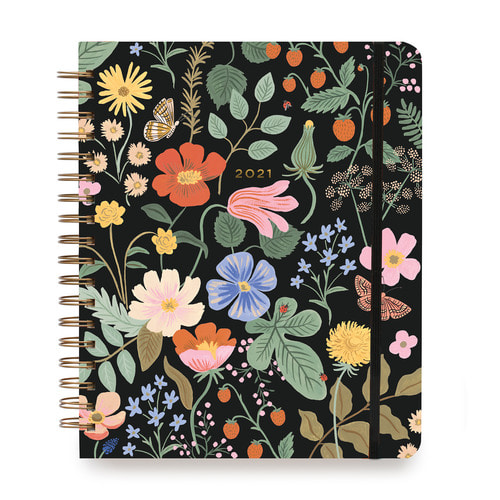 [Rifle Paper Co.] 2021 Strawberry Fields Large Month Planner