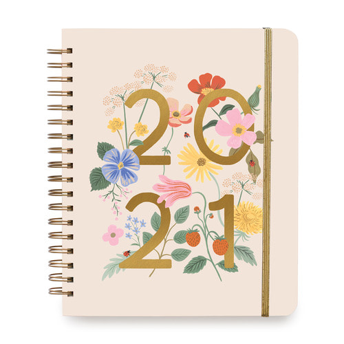 [Rifle Paper Co.] 2021 Wild Garden 17 Month Large Planner