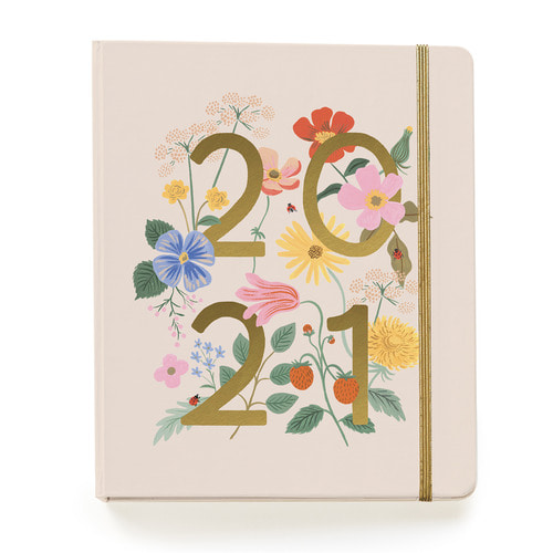 [Rifle Paper Co.] 2021 Wild Garden 17 Month Planner
