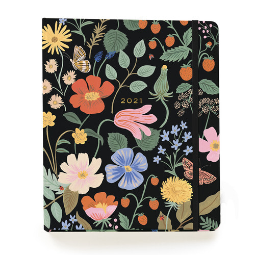 [Rifle Paper Co.] 2021 Strawberry Fields 17 Month Planner