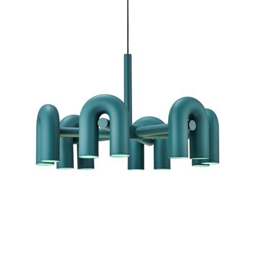 [AGO] Cirkus Chandelier Large - Green