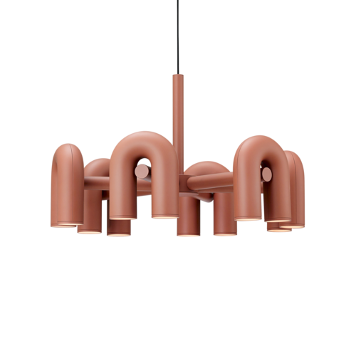[AGO] Cirkus Chandelier Large - Terracotta