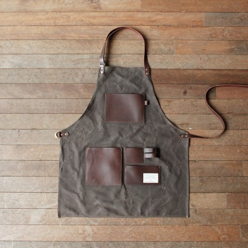 [TRVR] GENTLEMAN'S APRON BROWN