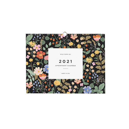 [Rifle Paper Co.] 2021 Garden Appointment Calendar