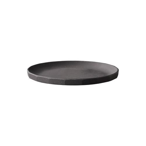 [KINTO] ALFRESCO plate 190mm - Black