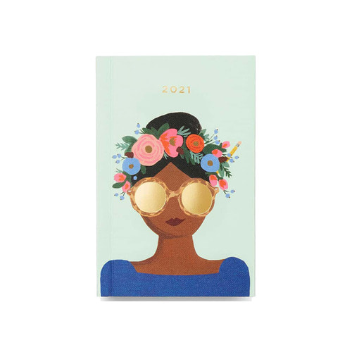 [Rifle Paper Co.] 2021 Flower Crown Pocket Planner
