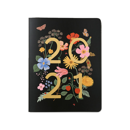 [Rifle Paper Co.] 2021 Wild Garden Appointment Notebook