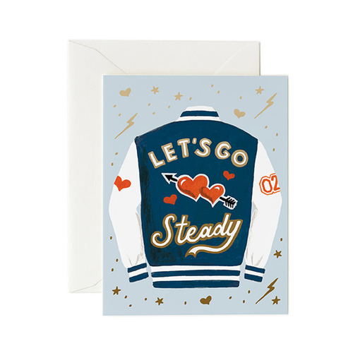 [Rifle Paper Co.] Let's Go Steady Card 사랑 카드