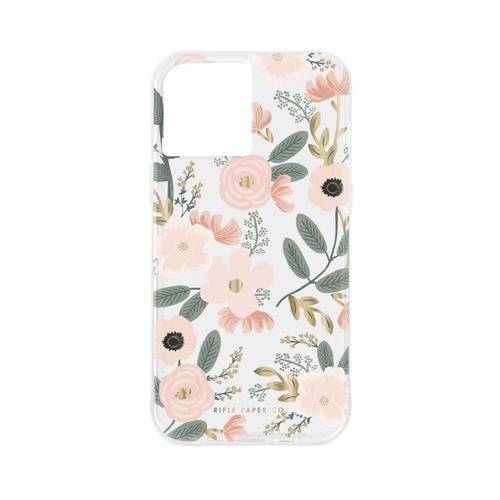 [Rifle Paper Co.] Clear Wildflowers iPhone Case (iPhone12/12P,12PM,12M)
