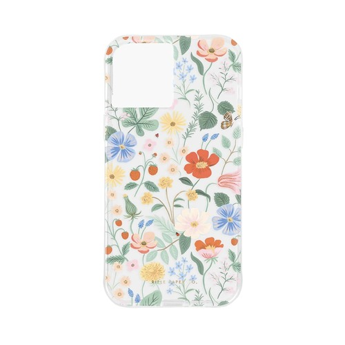 [Rifle Paper Co.] Clear Strawberry Fields iPhone Case (iPhone12/12P,12PM,12M)
