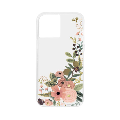 [Rifle Paper Co.] Clear Garden Party Rose iPhone Case (iPhone12/12P,12PM,12M)