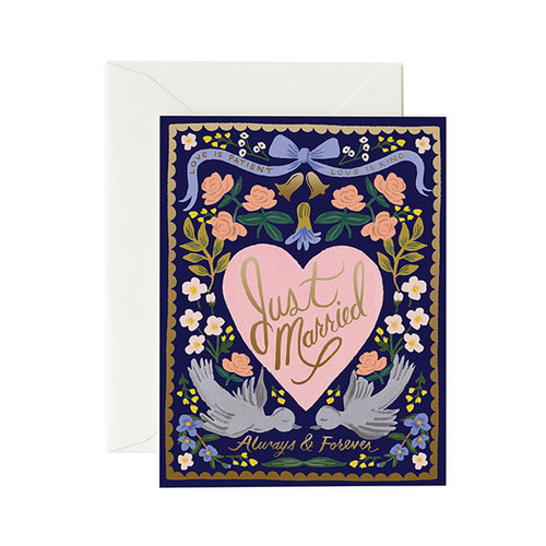 [Rifle Paper Co.] Love Birds Card 웨딩 카드