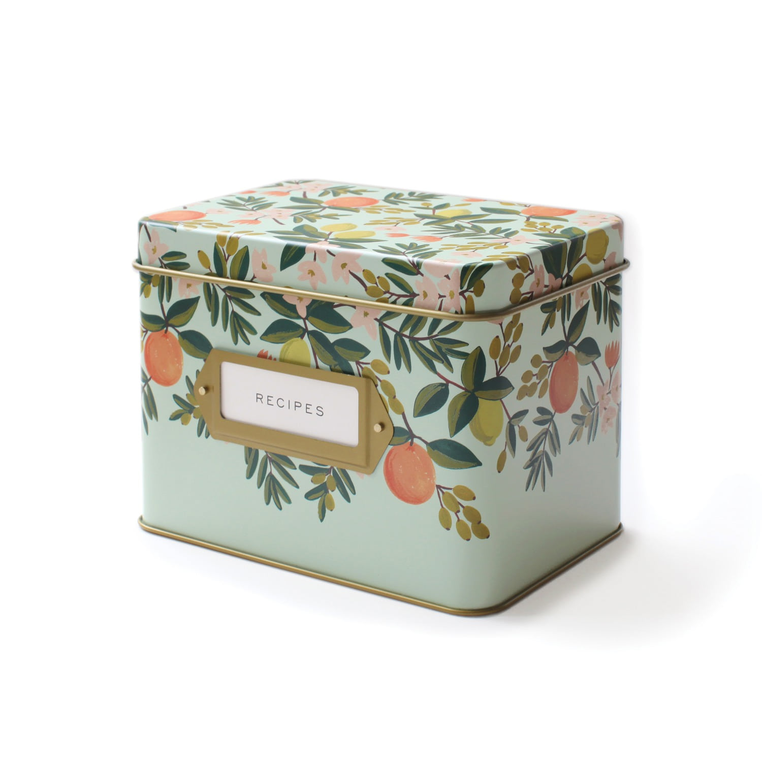 [Rifle Paper Co.] Citrus Floal Recipe Box