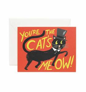 [Rifle Paper Co.] You're The Cats Meow Card
