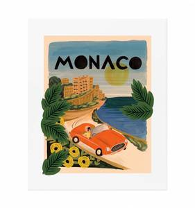 [Rifle Paper Co.] Monaco 11 x 14""
