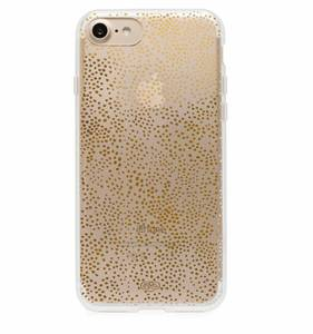 [Rifle Paper Co.] Clear Champagne iPhone Case (iPhone 6/6s/7/8, 6+/7+/8+)]
