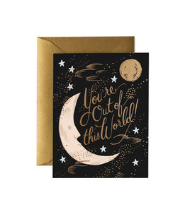 [Rifle Paper Co.] Out of This World Card