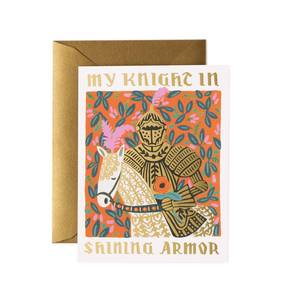 [Rifle Paper Co.] Knight in Shining Armor Card