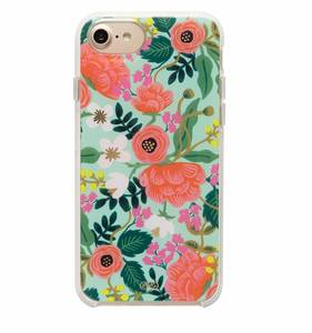 [Rifle Paper Co.] Mint Birch iPhone Case (iPhone 6/6s/7/8, 6+/7+/8+)
