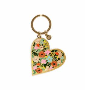 [Rifle Paper Co.] Floralheart Keychain