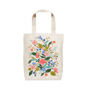 [Rifle Paper Co.] Floral Vines Tote Bag