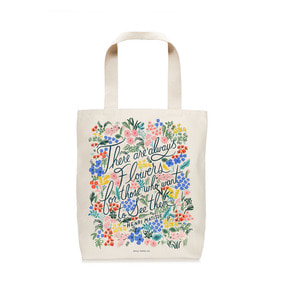 [Rifle Paper Co.] Seeing Flowers Tote Bag